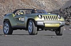 Další z autosalonových studií nesla už název Jeep Renegade (2008)