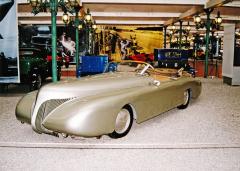Arzens La Baleine, představa designéra Paula Arzense obudoucnosti automobilu, byla vytvořena před sedmdesáti lety