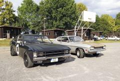 Impozantní fastback Granada a Capri první generace v původním stavu s krásnou patinou. Má řízení vpravo, ale jako nový byl přes Tuzex prodán v Československu