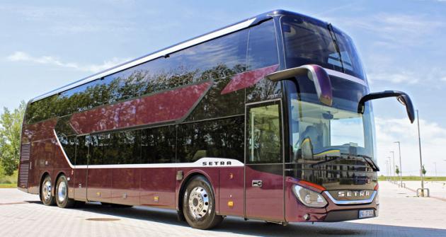 Patrový autobus Setra S531 DT