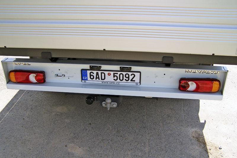 Opel – Součástí příplatkové výbavy bylo i tažné zařízení ISO 50