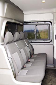 Volkswagen – V druhé řadě sedadel je místo pro čtyři osoby