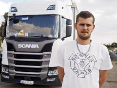 Úspěšný řidič Vlastimil Schimmel