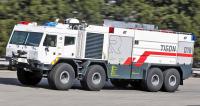 TATRA TIGON je hasičský speciál snástavbou Rosenbauer