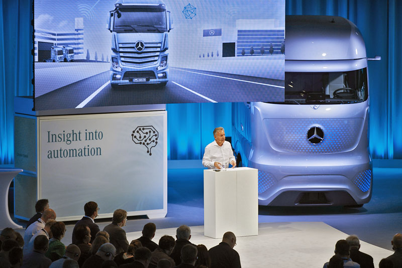 Stefan Buchner, člen představenstva Daimler Trucks a vedoucí divize Mercedes-Benz Lkw