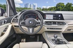Čtvrtá generace X5 je prvním vozem BMW přinášejícím nový koncept obsluhy s novou grafikou či možností online aktualizace