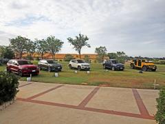 Řada Jeep v současnosti disponuje pěti typy. Zleva Grand Cherokee, Cherokee, Compass, Renegade a Wrangler