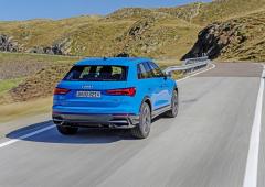 Vzadu je zřejmý typický styl Audi, přední část je výraznější než obvykle, je navržena v duchu modelu Q8