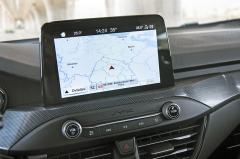 """Multimediální systém s navigací aosmipalcovým displejem je u varianty ST-Line součástí standardní výbavy. Nejdostupnější úrovně nabídnou rádio adisplej ovelikosti 4,2"""""""