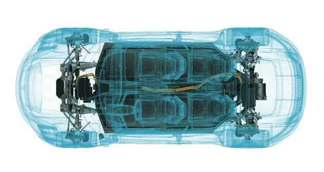Průhled studií Porsche Mission E, jež je předobrazem budoucího sériového elektrického Porsche Taycan