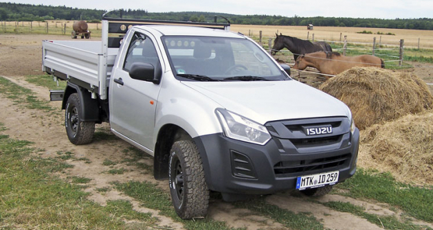 ISUZU D-Max 2.0 Single Cab sklápěč