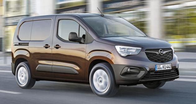 Nový Opel Combo Van