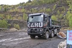 Jízdu struckem vterénu bylo možné vyzkoušet se sklápěčem Renault K480