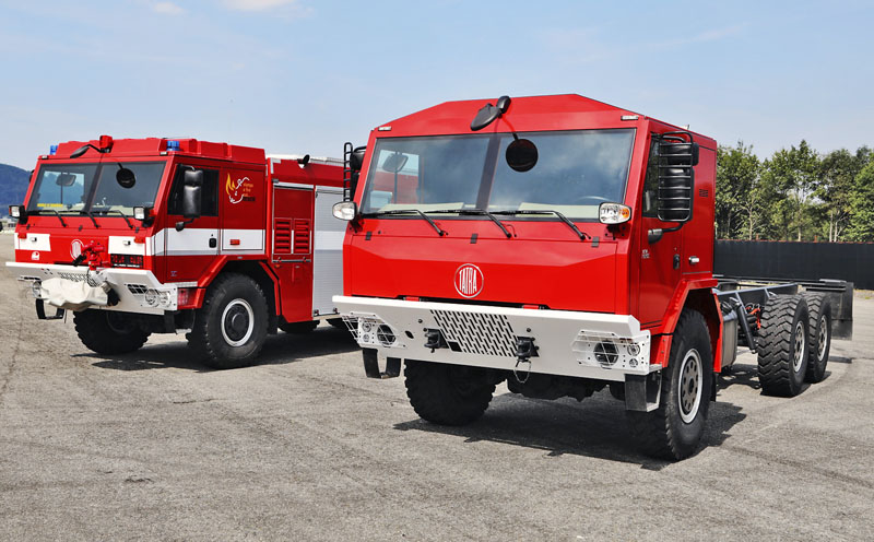 Nová kabina Tatra Force