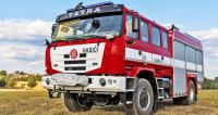 Hasičské vozidlo Tatra Terra