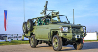 Toyota LRPV Gepard uveze až 1400 kg