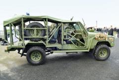 Lehké výsadkové vozidlo RDV Gepard na podvozku Toyoty Land Cruiser 70