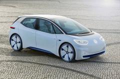 Koncepční vůz Volkswagen I.D. (2016) ukazuje podobu sériového vozu ID., který Volkswagen uvede jako prvního zástupce nové generace elektromobilů v roce 2020