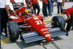V první maďarské Grand Prix sice Michele Alboreto havaroval, ale jeho Ferrari F.1/86 Turbo patřilo k nejobdivovanějším vozům