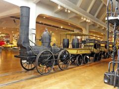 Také příznivci prvních lokomotiv uForda uvidí mnoho zajímavého