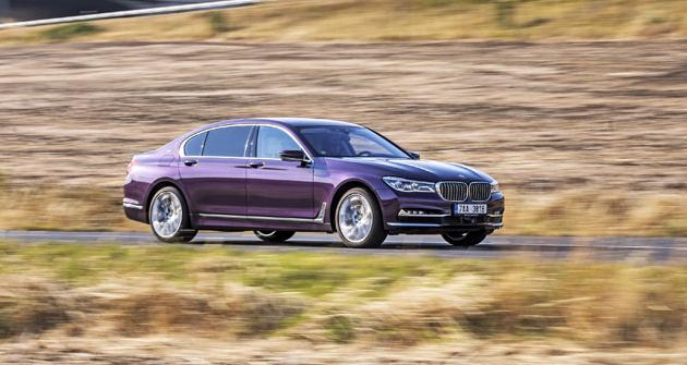 Zkoušené elegantněji laděné provedení dvanáctiválcového BMW řady 7 má označení M760Li xDrive V12 Excellence