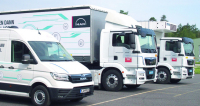 MAN eTGE je součástí elektrické revoluce ufinálního výrobce MAN zMnichova. Vedle elektrododávky jsou elektro rozvážková  vozidla eTGM.