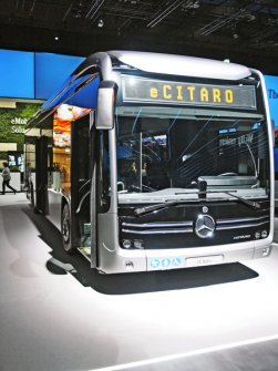 Nový autobus Mercedes-Benz eCitaro