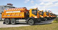 Automobily Iveco Trakker pro zimní údržbu