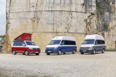 Volkswagen představil vedle tradiční Californie na podvozku T6 jako novinku velké obytné modely Grand California Crafter