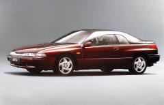 Subaru SVX (1991 – 1996) s designem od Giorgetta Giugiara bylo ve své době přehlídkou moderní techniky. Kromě plochého šestiválce mělo pohon všech kol (dva systémy). V Japonsku existovaly i verze s řízením všech kol