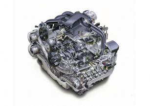Nejnovější verze šestiválce Subaru EZ36 se zdvihovým objemem 3,6 l je nyní k dispozici ve vozech určených například pro americký nebo ruský trh