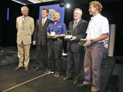 Don Panoz při slavnostním přebírání čestné ceny Spirit of Le Mans 2016