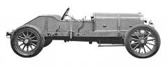 Závodní speciál Austin 100 HP pro Velkou cenu Francie 1908
