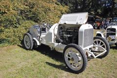 Mohutný závodní Benz 120 HP (1908) ze sbírek Ladislava Samohýla