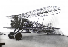 Letecký drak letounu Š-239 smotorem ZOD-260.