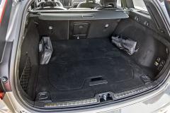Zavazadlový prostor se základním objemem 529 litrů bohatě stačí i pro rodinné používání. Je kvalitně čalouněný a má pravidelný tvar
