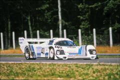 Švýcar Antoine Salamin nasadil soukromé Porsche 962C (s Gigim Tavernou devátí)