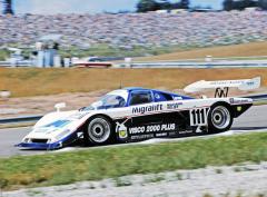 Spice SE88C Ford V8 továrního týmu Spice Engineering, vítěz třídy C2 (Gordon Spice/Ray Bellm)