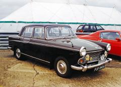Morris Oxford šesté série se vyráběl vletech 1959–1971, alternativně i jako 1,5 l Diesel, karoserii navrhl Pininfarina
