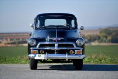 Modelový rok 1954 přinesl typu Pickup novou, bohatě chromovanou masku chladiče