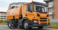 Scania P 250 B4x2NB se zametací nástavbou Bucher CityFant 6000