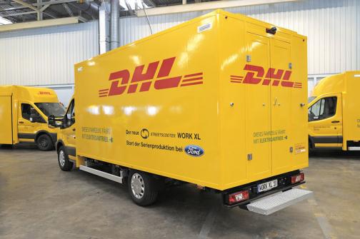 Ford zahájil výrobu elektrické dodávky