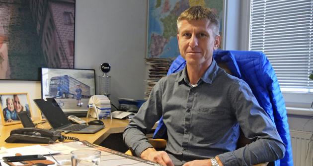 Majitel firmy Lorenc Logistic, Václav Lorenc