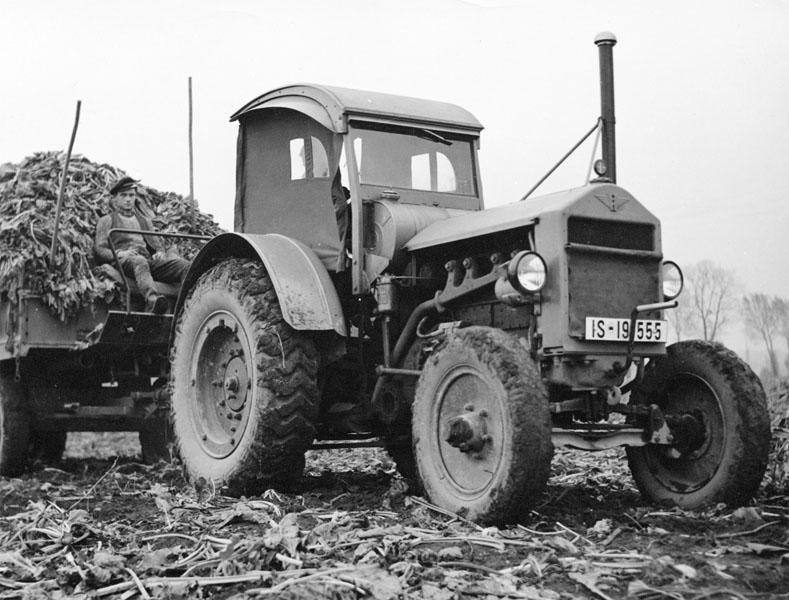 Začátek legendy – Continental vyrábí první agro pneumatiku T2