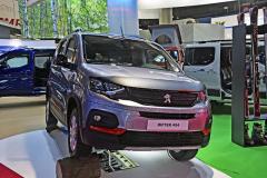 Světová premiéra Dangel Peugeot Rifter 4x4