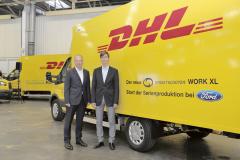 Deutsche Post DHL nasadí dodávky do rozvážkových služeb v německých městech. Zvažuje se, zda je v budoucnu nenabídnout i třetím stranám.