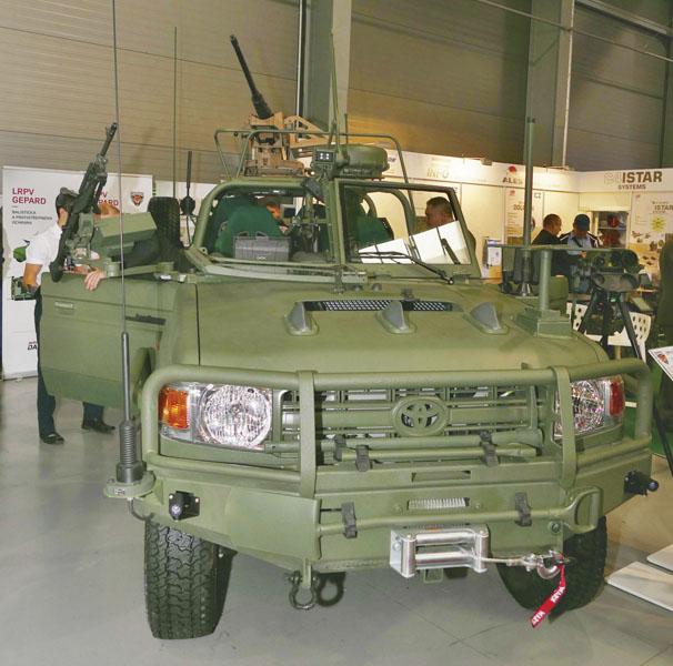 Společnost Dajbych při vývoji LRPV aRDV Gepard spolupracuje sdalšími českými firmami, konkrétně jde ojihlavskou společnost Optokon, kopřivnickou Tatra Defence Vehicle (TDV) ašternberskou Excalibur Army (EA).