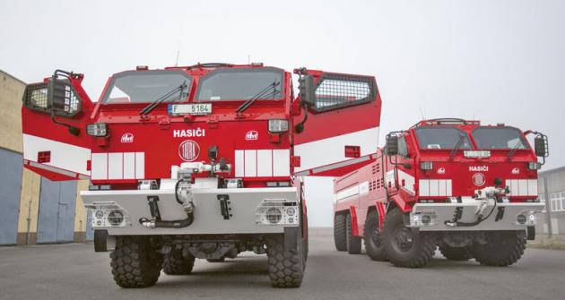 Hasičský záchranný sbor České republiky má prozatím dvě tato speciální vozidla, časem přibude ještě třetí.