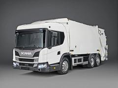 Komunální Scania L320 6x2 pro svoz odpadu