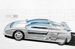 Sportovní Aztec, první z trilogie Aspid (kupé) a Asgard (MPV), všechny s pětiválcem Audi 2.2/147 kW (200 k), představené roku 1988